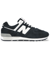 New Balance M576 Made in UK Black Suede Sneakers