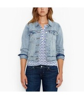 Levi's Levis-Authentic Trucker Jacket-Untamed Blue