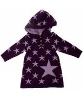 Abito Lunghi Name It Kids  WOOL MINI KNIT LS STAR DRESS