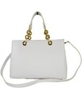 Borsette Dream Leather Bags  Borsa Donna Con Manici In Vera Pelle Ed Anelli Mod. Grande Color