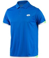 Polo Lotto  Aydex II Atlantic Polo Uomo Tennis Azzurra R9846