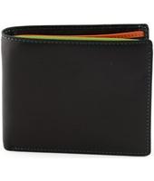 Portafoglio Dream Leather Bags  Portafoglio Per Uomo In Vera Pelle, Interno Multicolor Colore Ne