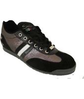 Scarpe Serafini  755 Sneakers Donna Pelle/camoscio  Nero