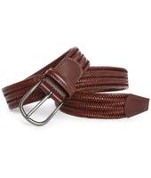 Andersons Cintura Elasticizzata in Pelle Marrone