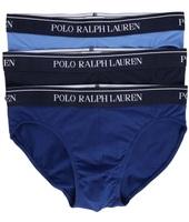 Polo Ralph Lauren Pack di 3 slip blu