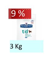 Hill's Prescription Diet t/d mini Canine : 3 Kg