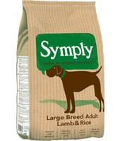 Symply Adult Agnello & Riso Large Breed  : 12 kg