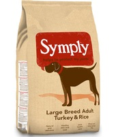 Symply Adult Tacchino & Riso Large Breed : 12 kg