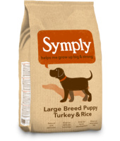 Symply Puppy Tacchino & Riso Large Breed : 12 kg
