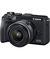Canon Eos M6 Mark Ii Mirrorless Fotocamera Digitale Con Ef-m 15-45mm - Nero