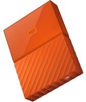 Western Digital My Passport 2.5 Inch Usb 3.0 Disk Esterno 2tb Wdbyft0020bor - Arancia