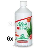 Specchiasol Aloe Vera Qualità Extra - Goji - 6 bottiglie da 1 Litro