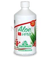 Specchiasol Aloe Vera Qualità Extra - Mirtillo Rosso - 1 Litro