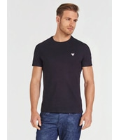 Guess T-Shirt Dettaglio Triangolo Logo Frontale