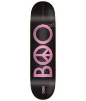 DGK Boo Peace Black 8.25'' Skateboard Deck