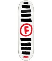 Foundation Doodle Stripe 8.5'' Skateboard Deck