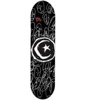 Foundation Star & Moon Yo 7.875'' Skateboard Deck