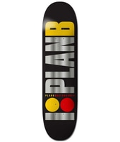 Plan B Team Og Blk Ice 8.0'' Skateboard Deck