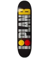 Plan B Team Og Blk Ice 8.25'' Skateboard Deck