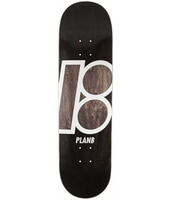 Plan B Team Stained 8.25'' Skateboard Deck