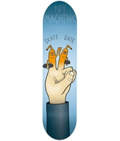 Toy Machine Finger Puppet 8.0'' Skateboard Deck