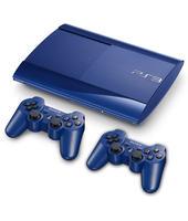 Bundle Sony Playstation 3 (PS3) Console 500GB Super Slim Blue + 2 Dual Shock 3 (PlayStation 3)