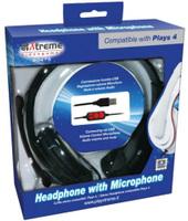 Xtreme: Cuffia con Microfono per PS4 (PlayStation 4)