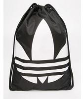 adidas Originals - Zaino con coulisse nero - Nero