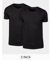 Levis Levi's - Confezione da 2 T-shirt girocollo vestibilità classica - Nero