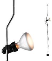Flos lampada a sospensione PARENTESI D con dimmer (Nichel - Acciaio / Elastomero)