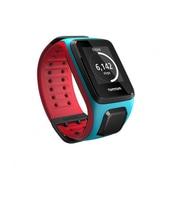 tomtom runner 2 cardio+music scuba blue/red (l)