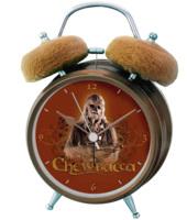 Star Wars Chewbacca sveglia con suoni dal film originale e orecchie in peluche 12x6x15 cm