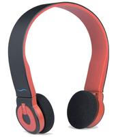 Cuffia Bluetooth con microfono hi-Edo - Nero/Rosso - hi-Fun