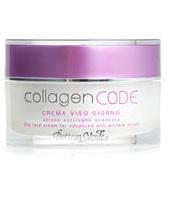 Bottega Verde CollagenCODE - Crema viso giorno, azione antirughe avanzata, con Collagene vegetale ed Elastindefence  antiglicazione, idratante (50 ml)