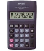 Casio HL-815L Tasca Calcolatrice di base Nero calcolatrice