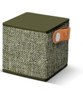 Fresh 'n Rebel Rockbox Cube Fabriq minispeaker verde militare