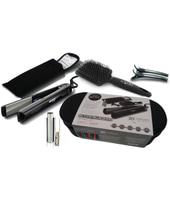 GA.MA Starlight 3D Therapy Bag Set Hair straightener Caldo 45W Nero