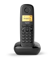 Gigaset A170 Analog/DECT telephone Identificatore di chiamata Nero