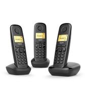 Gigaset A170 Trio Analog/DECT telephone Identificatore di chiamata Ner