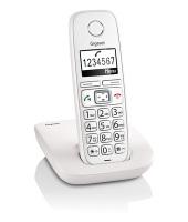 Gigaset E260 Telefono DECT Identificatore di chiamata Bianco