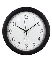 Hama 00106936 Mechanical wall clock Cerchio Nero orologio da parete
