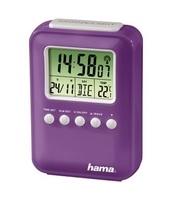 Hama ''Fashion'' Radio Controlled Alarm Clock Digital alarm clock Porpor