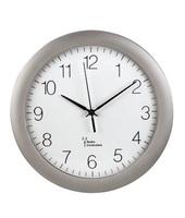 Hama PG-300 Quartz wall clock Cerchio Argento, Bianco