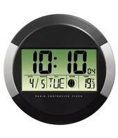 Hama PP-245 Digital wall clock Cerchio Nero