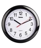 Hama PP-250 Quartz wall clock Cerchio Nero