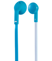 Meliconi Speak FLAT Stereofonico Interno orecchio Blu