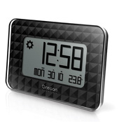 Oregon Scientific JW208 Digital wall clock Rettangolo Nero