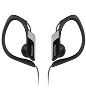 Panasonic RP-HS34ME Stereofonico Interno orecchio Nero, Grigio