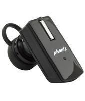 Phonix PBTT9+B Aggancio Monofonico Senza fili Nero auricolare per tele