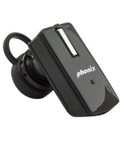 Phonix PBTT9+B Monofonico Aggancio Nero cuffia